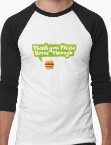 hamburger Men's Baseball ¾ T-Shirt
