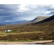 Just One in Glen Coe Photographic Print