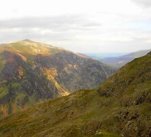 View from Snowdon by karenlynda