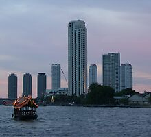 Bangkok By The River by Christian Eccleston
