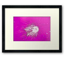 Impact #2 - Pink Framed Print