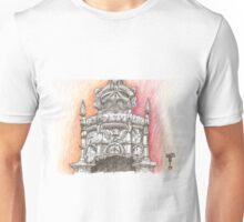 Belém Tower. Sta. Maria crown in stone. Unisex T-Shirt