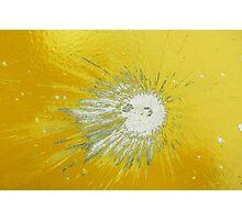 Impact #2 - Yellow Photographic Print