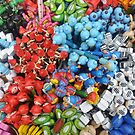 Colorful Pencils in The Market by Christian Eccleston