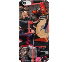 The Warrior and the Crowd iPhone Case/Skin