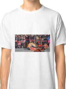 The Warrior and the Crowd Classic T-Shirt