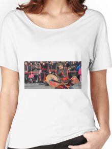 The Warrior and the Crowd Women's Relaxed Fit T-Shirt