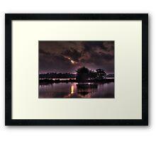 Sunrise on the River Orwell  Framed Print