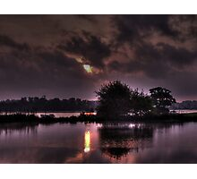 Sunrise on the River Orwell  Photographic Print