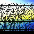 Tangled Fence  by Daniel Kazor