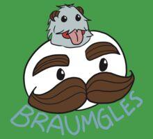 Braum x Pringles // LEAGUE OF LEGENDS by sayomi