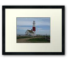 portland bill lighthouse Framed Print