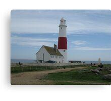 portland bill lighthouse Canvas Print