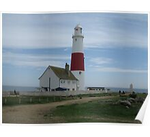 portland bill lighthouse Poster