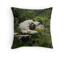 Wolf Pride Throw Pillow