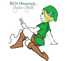 BEN Drowned: Gamer Ghost Photographic Print