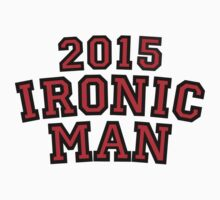 2015 Ironic Man Kids Clothes