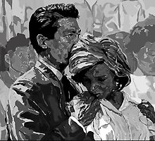 Hiroshima Mon Amour 'You Saw Nothing' - Digital Portrait by Katie  McNeice