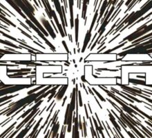 Space Cadet Hyperspace 2 Sticker