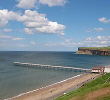 Saltburn pier in is entirety by dougie1