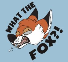 What the FOX?! - Red Fox by sanctimony