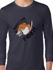 What the FOX?! - Red Fox Long Sleeve T-Shirt