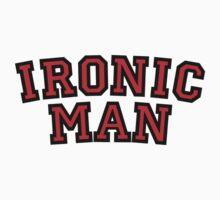 Ironic Man One Piece - Long Sleeve