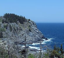 Black Head-Monhegan Island by AlienVisitor
