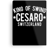 King Of Swing Metal Print
