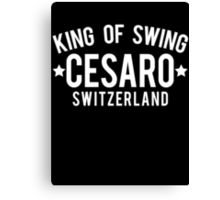 King Of Swing Canvas Print