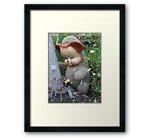 Rare Native Sook Bear Framed Print
