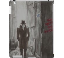Who Watches The Watchers? iPad Case/Skin