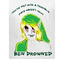 BEN Drowned: Terrible Fate  Photographic Print