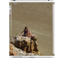 Girl On The Rocks, Compton Bay iPad Case/Skin
