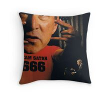 Team Satan Throw Pillow