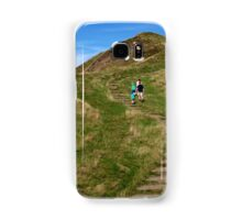 Walking Up Mam Tor Samsung Galaxy Case/Skin