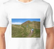 Walking Up Mam Tor Unisex T-Shirt