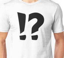 Question mark exclamation point Unisex T-Shirt