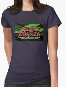 The Brides of Dracula - 1960 Womens Fitted T-Shirt