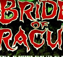 The Brides of Dracula - 1960 Sticker