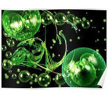 """Green Dragon"" Poster"