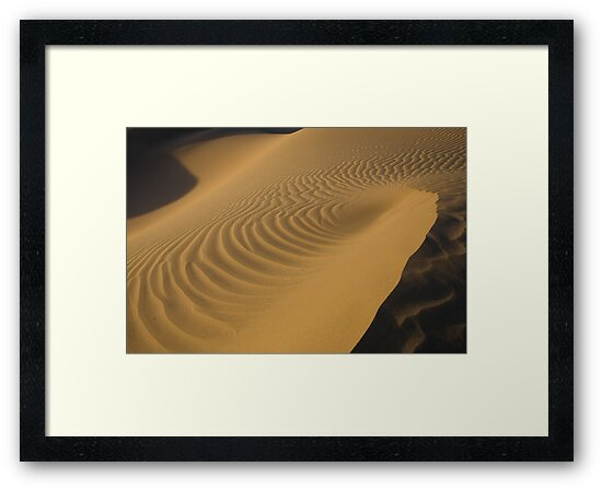 Death Valley Sand Dunes by Charlie  Lin
