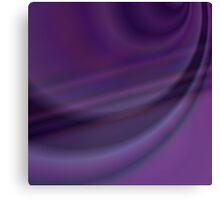 Purple color abstract design Canvas Print