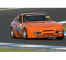 944 in Orange Photographic Print