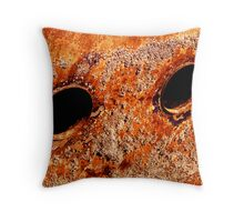 Rusting Eyes Throw Pillow