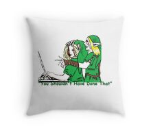 BEN Drowned Roleplaying Who's In Control? Throw Pillow