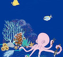 In an Octopus's Garden by Danielle Kerese