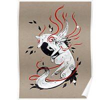 Okami Amaterasu RIBBONS Poster
