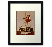 Skipping Girl Framed Print