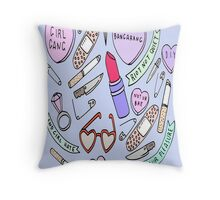 NOT YOUR BAE Throw Pillow